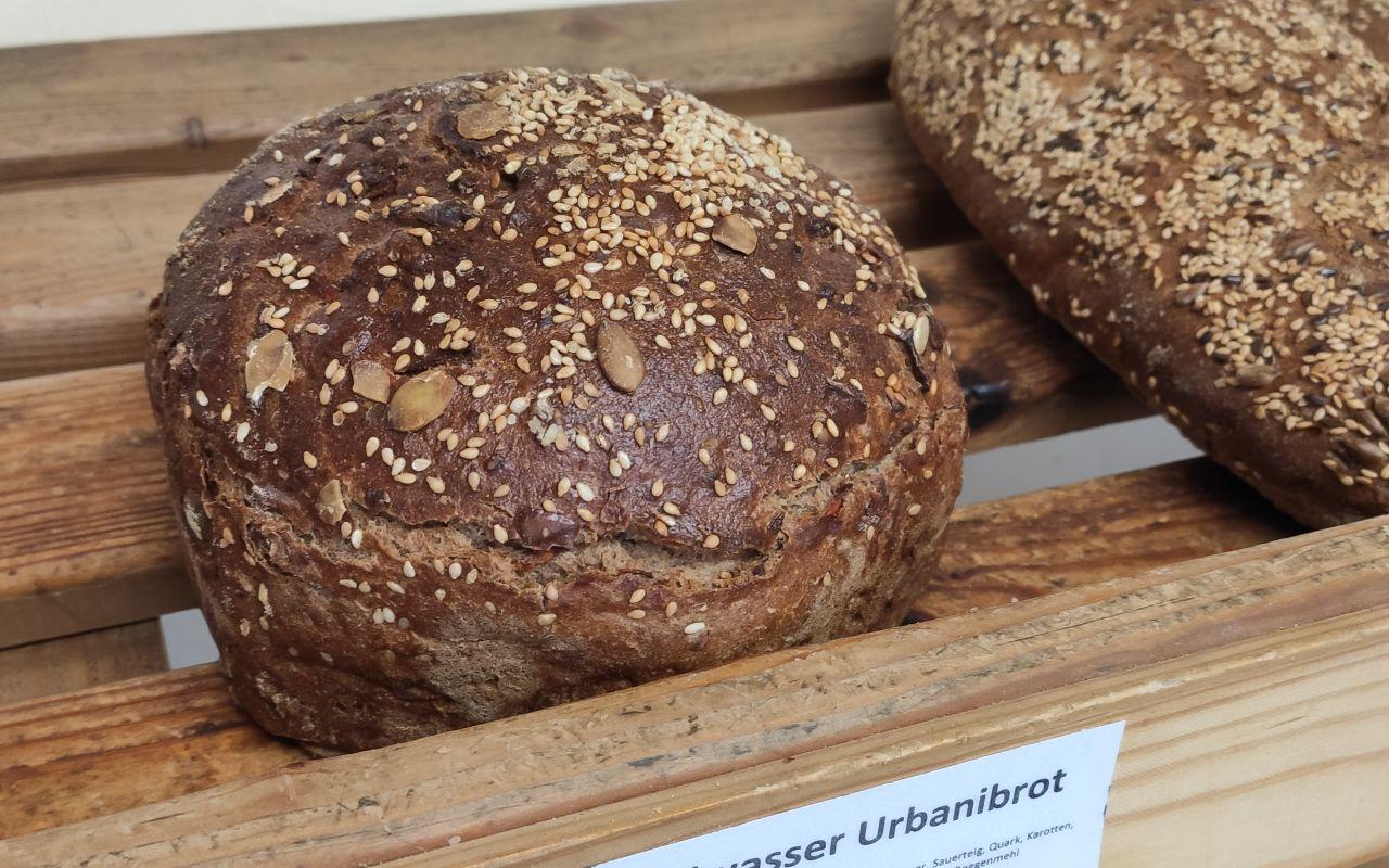 Heilwasserbrot Urbanibrot aus der Bäckerei Amthor in Waltershausen