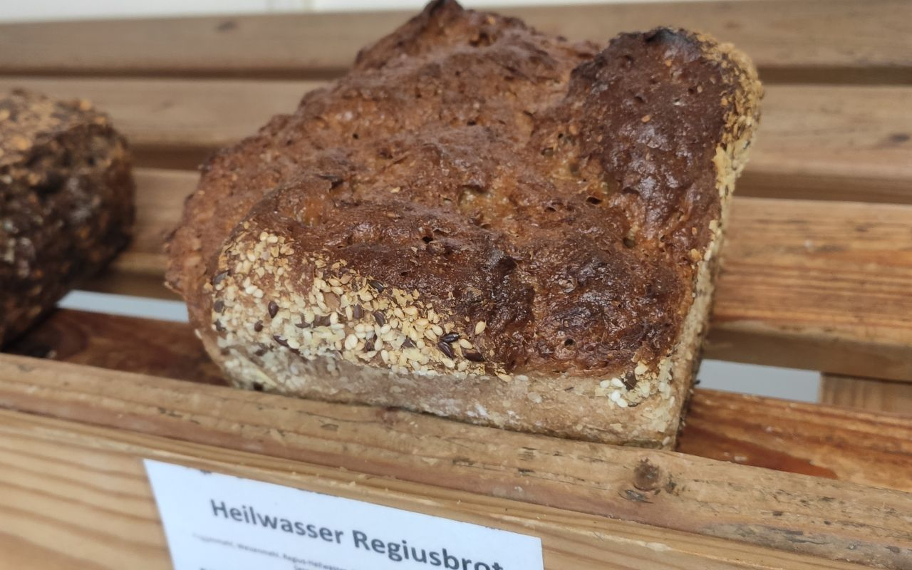 Heilwasserbrot Regiusbrot vom Bäcker Ullrich Amthor aus Waltershausen